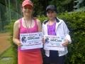 semifinalistky dvouhra Lucie Votavová a Dagmar Simonová