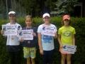finalistky čtyřhra Gabriela Vlčková, Julie Baštová, Karolína Trpáková a Barbora Richterová